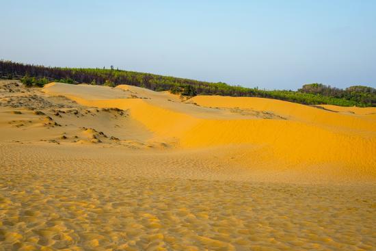 Red Sand Dunes at Mui Ne, Phan Thiet, Binh Thuan Province, Vietnam, Indochina, Southeast Asia, Asia-Jason Langley-Photographic Print