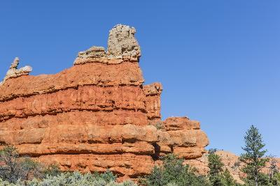 Red Sandstone Formations in Red Canyon-Michael Nolan-Photographic Print