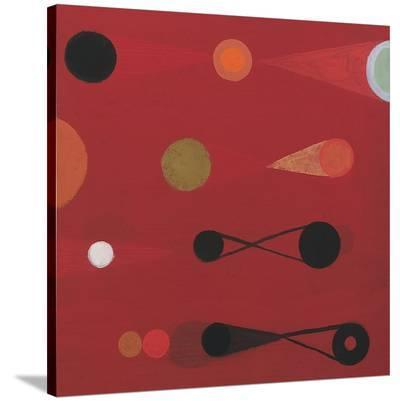 Red Seed #13-Bill Mead-Stretched Canvas Print