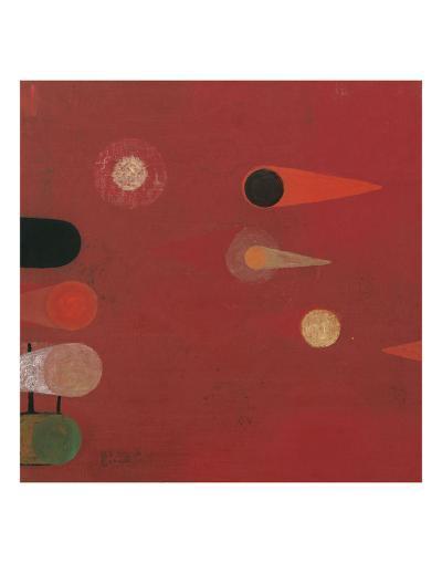 Red Seed #6-Bill Mead-Art Print