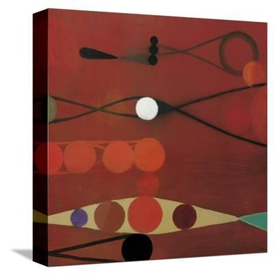 Red Seed, no. 34-Bill Mead-Stretched Canvas Print