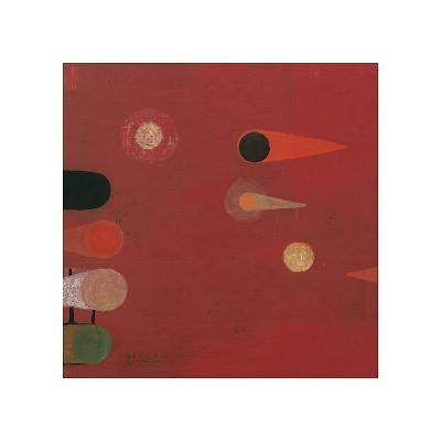 Red Seed, no. 6-Bill Mead-Giclee Print