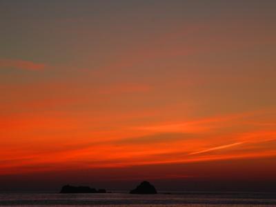 Red Sky at Night-Magda Indigo-Photographic Print