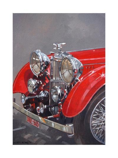 Red Sp.25 Alvis-Peter Miller-Giclee Print