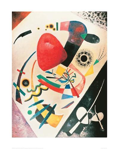 Red Spot, 1921-Wassily Kandinsky-Giclee Print