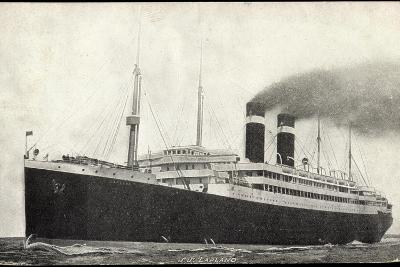 Red Star Line, Steamer S.S. Lapland--Giclee Print