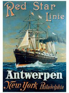 Red Star Linie: Antwerpen, New York, Philadelphia