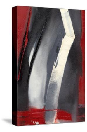 Red Streak III-Sharon Gordon-Stretched Canvas Print