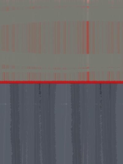 Red Stripe-NaxArt-Art Print