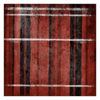 Red Stripes-Jace Grey-Art Print