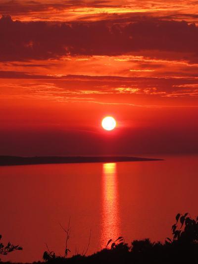 Red Sunset Sunrise Holiday-Wonderful Dream-Art Print