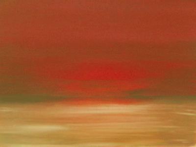 Red Sunset-Kenny Primmer-Art Print