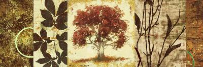 Red Tree Panel I-Michael Marcon-Premium Giclee Print