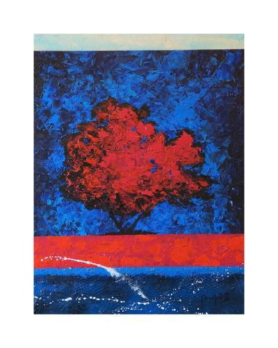 Red Tree-Joseph Marshal Foster-Giclee Print