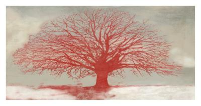 Red Tree-Alessio Aprile-Giclee Print