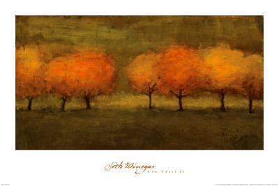 Red Trees II-Seth Winegar-Art Print