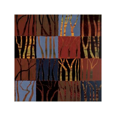 Red Trees II-Gail Altschuler-Giclee Print