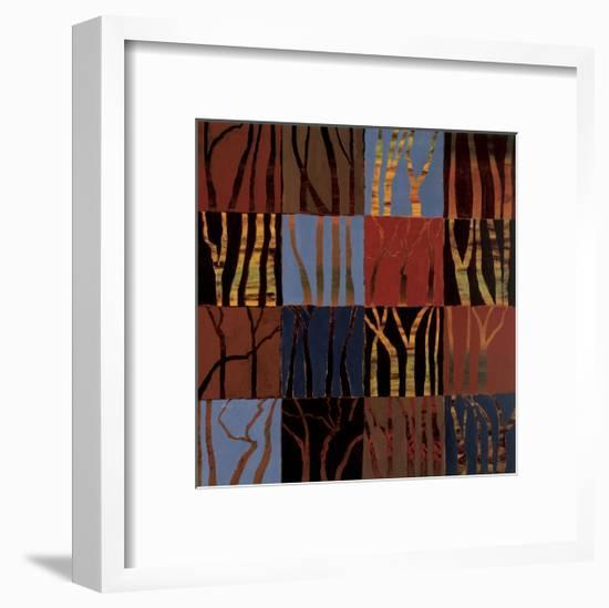 Red Trees II-Gail Altschuler-Framed Giclee Print