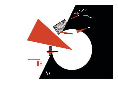 Red Triangles-Lazar Lisitsky-Art Print