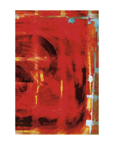 Red Tsunami-Carolina Pecora-Art Print