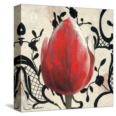 Red Tulip-Joadoor-Stretched Canvas Print