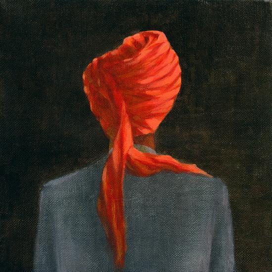 Red Turban, 2004-Lincoln Seligman-Giclee Print