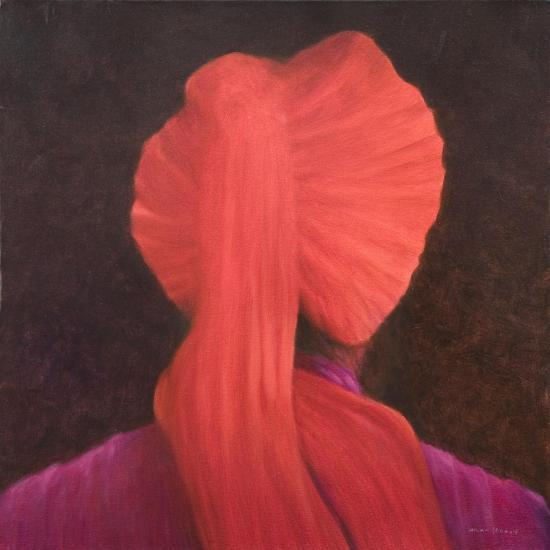Red Turban in Shadow-Lincoln Seligman-Giclee Print
