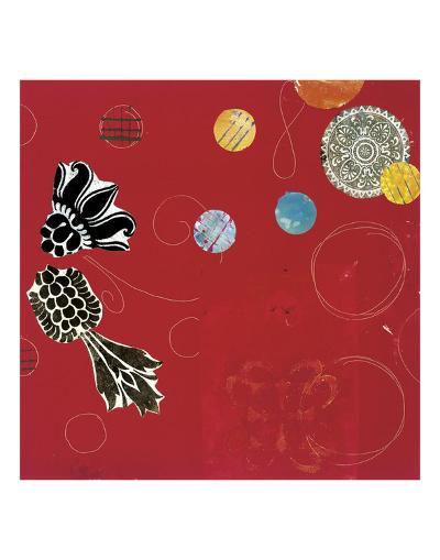 Red Velvet Delight I-Yafa-Art Print