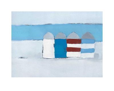Red, White and Blue-Heidi Langridge-Art Print