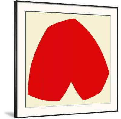 Red White, c.1962-Ellsworth Kelly-Framed Art Print