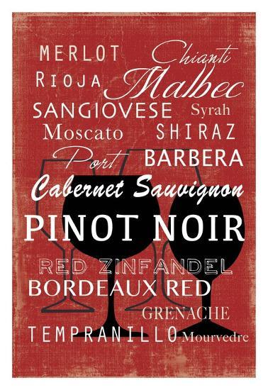 Red Wine Collection - Mini-Aimee Wilson-Art Print