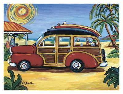 Red Woody-Suzanne Etienne-Art Print