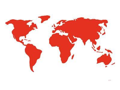 Red World-Avalisa-Art Print