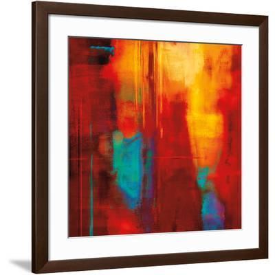 Red Zone I-Brent Nelson-Framed Art Print
