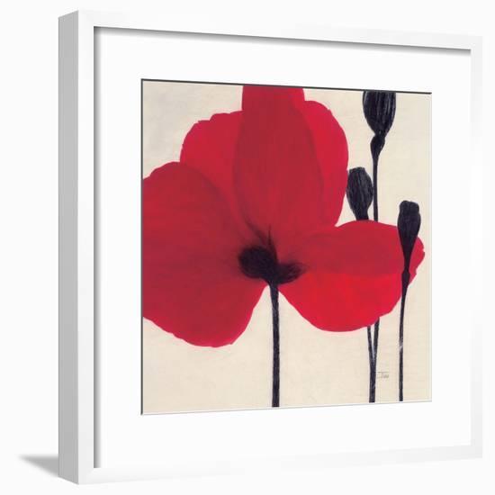 Red-Ivo-Framed Art Print