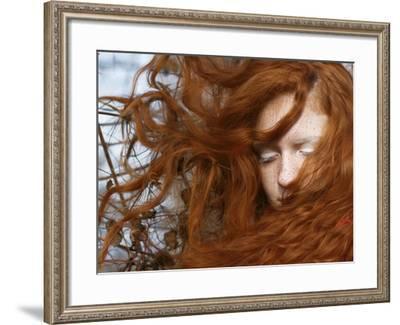 Red-Katarina Djelbabin-Framed Photographic Print