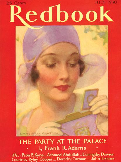 Redbook, July 1930--Art Print