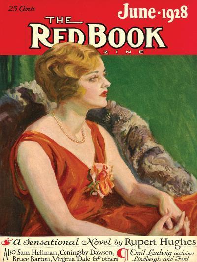 Redbook, June 1928--Art Print