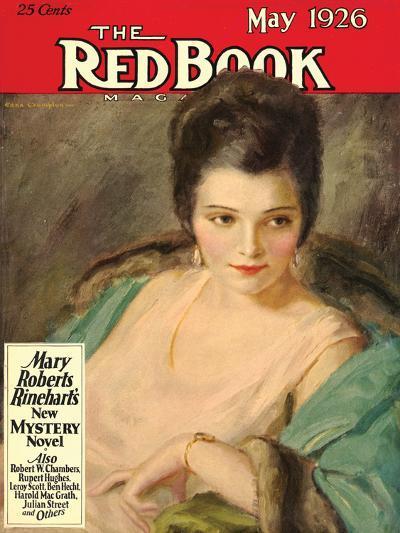 Redbook, May 1926--Art Print