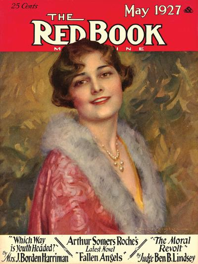 Redbook, May 1927--Art Print