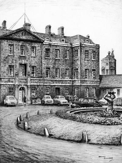 Redcliffe Infirmary, Oxford, C1950-1970-Graham Clilverd-Giclee Print