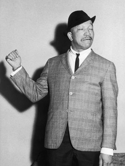 Redd Foxx, Backstage, Chicago's Tivoli Theater, May 1961-Isaac Sutton-Photographic Print