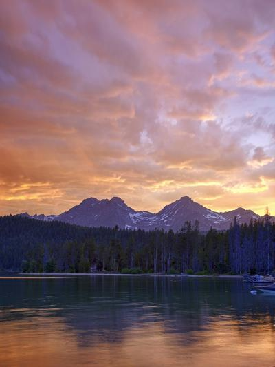 Redfish Lake, Sawtooth National Recreation Area, Idaho, USA-Jamie & Judy Wild-Photographic Print