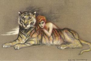 Redhead and Tiger