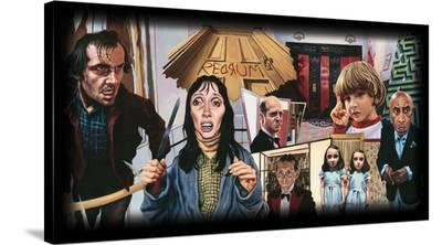 Redrum-Justin Reed-Stretched Canvas Print
