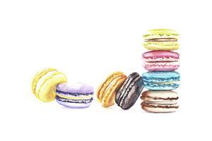 8 Macarons by Redstreake
