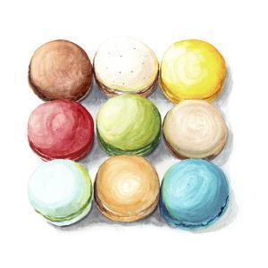 9 Macarons by Redstreake