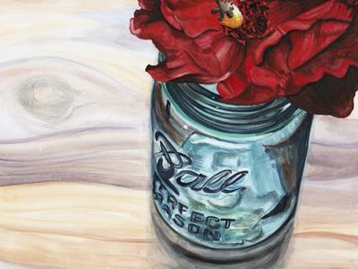 Ball Jar Flower III