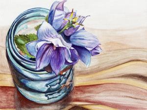 Ball Jar Flower IV by Redstreake
