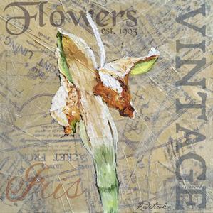 Vintage Flower Collage IV by Redstreake